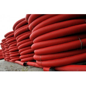 HDPE Corrugated Cable Pipes
